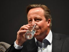 Former prime minister David Cameron (Jacob King/PA)