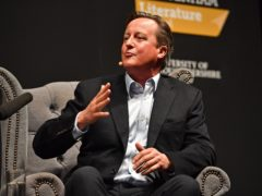 A watchdog probe concluded that David Cameron was an employee of Greensill Capital and so did not need to register as a lobbyist (Jacob King/PA)