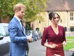 The Duke and Duchess of Sussex (Jeremy Selwyn/Evening Standard/PA)
