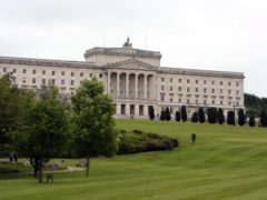 Sir Jeffrey Donaldson said the action would undermine the devolution settlement at Stormont (PA)