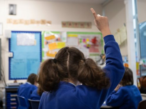 A union is calling for an expansion of the teaching workforce (Danny Lawson/PA)