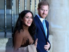 The Duke and Duchess of Sussex (Daniel Leal-Olivas/PA)