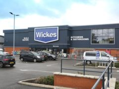 Wickes saw revenue rise 5% in 2020 (Barry Batchelor/PA)