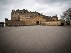 Attractions such as Edinburgh Castle will have social distancing in place when they reopen (Jane Barlow/PA)