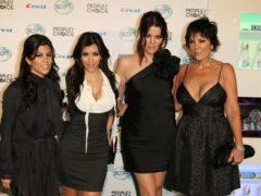 The Kardashian sisters – Kourtney, Kim, Khloe – as well as their mother Kris Jenner, became internationally famous thanks to their reality TV show (PA)