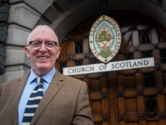 Dr Martin Fair said he will be back in church on Sunday (Church of Scotland/PA)
