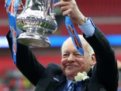 Dave Whelan, pictured, with the FA Cup after Wigan's2013 triumph (Dave Thompson/PA)