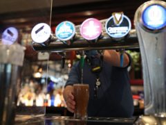 The industry estimates that small brewers have poured six million pints of beer down the drain since last year (Yui Mok/PA)