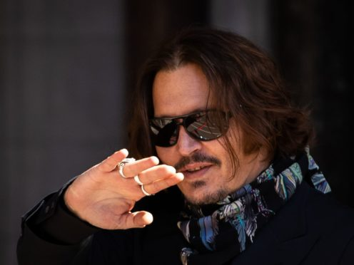 Johnny Depp (Aaron Chown/PA)