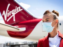 Virgin Atlantic has become the latest airline to announce a trial of so-called vaccine passports (Matt Alexander/PA)