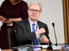 Lord Advocate James Wolffe gave evidence about the Crown Office's intervention in the redacted Alex Salmond evidence and the release of legal advice (Jeff J Mitchell/PA)