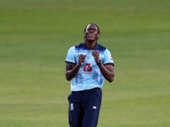 Jofra Archer is facing two weeks of rehab after hand surgery (Martin Rickett/PA)