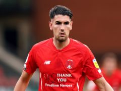 Conor Wilkinson grabbed the only goal for Orient (Tess Derry/PA)