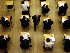 High school pupils are worried that they will face weeks of continual testing when they return to school (David Jones/PA)