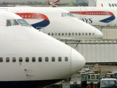 The study suggests more flights are being taken by a narrow proportion of the population (Tim Ockenden/PA)