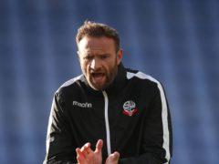 Ian Evatt wants Bolton to sacrifice everything over the next seven weeks (Nick Potts/PA)