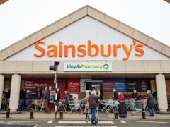 Sainsbury's has said 1,150 jobs are at risk as part of major restructuring (Jacob King/PA)