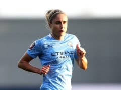 Manchester City captain Steph Houghton is sidelined by an Achilles problem (Tim Markland/PA)