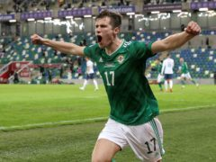 Paddy McNair is in the Northern Ireland squad to face Italy, Bulgaria and the United States (Brian Lawless/PA)