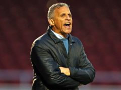 Keith Curle's reign began with a draw (Bradley Collyer/PA)