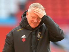 """Sheffield United boss Chris Wilder insists his squad needs a """"shake-up"""" and that some players """"have to go"""" following a 22nd Premier League defeat of the season (Mike Egerton/PA)"""