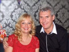 Michelle Davies with husband John (Irwin Mitchell)