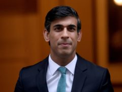 Chancellor of the Exchequer Rishi Sunak (Yui Mok/PA)