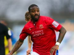 Morecambe's Yann Songo'o is suspended (Barrington Coombs/PA)