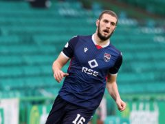 Ross County's Alex Iacovitti is focusing only on Hibernian (Jeff Holmes/PA)