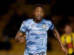 Ebou Adams netted Forest Green's winner (Richard Sellers/PA)