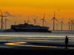 A wind farm (Peter Byrne/PA)