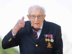 The life of Captain Sir Tom Moore is to be celebrated through an event on what would have been his 101st birthday, his daughter said. (Joe Giddens/ PA)
