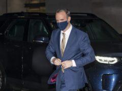 Foreign Secretary Dominic Raab (Aaron Chown/PA)