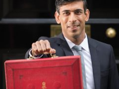 Rishi Sunak will unveil his Budget on Wednesday (Stefan Rousseau/PA)
