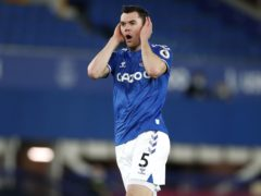 Everton defender Michael Keane was a surprise omission from Gareth Southgate's England squad (Clive Brunskill/PA)