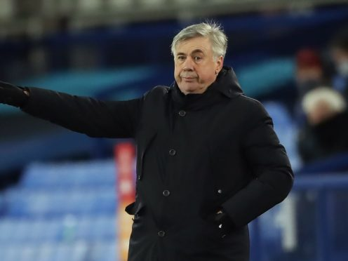Everton manager Carlo Ancelotti knows he has to add more quality to his squad (Nick Potts/PA)