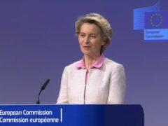 European Commission president Ursula von der Leyen (PA)