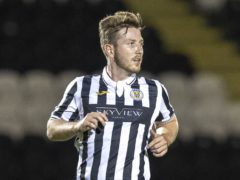 Kyle McAllister has set his sights on a top-six finish with St Mirren (Jeff Holmes/PA)