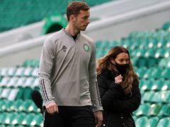 Conor Hazard confident of improvement at Celtic (Andrew Milligan/PA)