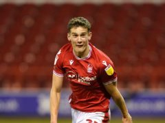 Nottingham Forest's Ryan Yates will have a fitness test (Zac Goodwin/PA)