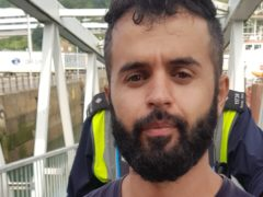 Fouad Kakaei, a migrant who helped pilot a dinghy over the Channel, has had his convictions for immigration offences quashed (Home Office/PA)