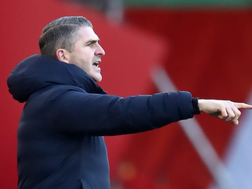 Ryan Lowe was not impressed with Plymouth's efforts at Northampton (Tim Goode/PA)