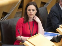 Kate Forbes said the UK Government's support was 'less generous' (Jane Barlow/PA)
