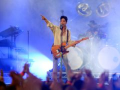 Prince performing on the main stage at the Hop Farm Festival (Gareth Fuller/PA)