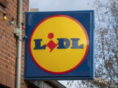 Lidl has rejected the Chancellor's extended business rates holiday (Steve Parsons/PA)