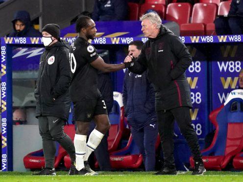 David Moyes thinks Michail Antonio can still play for England (John Walton/PA)