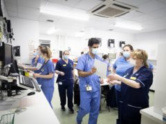 Anger at 15 pay offer for nurses (Jane Barlow/PA)