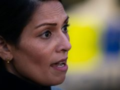 Priti Patel said the question of whether Metropolitan Police chief Dame Cressida Dick should resign was one for after a 'full report' (Aaron Chown/PA)