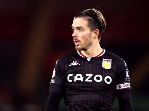 Jack Grealish has missed Aston Villa's last two matches (Naomi Baker/PA).