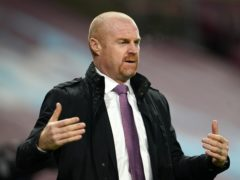 Sean Dyche is not expecting a major change to Burnley's transfer dealings (Jon Super/PA)